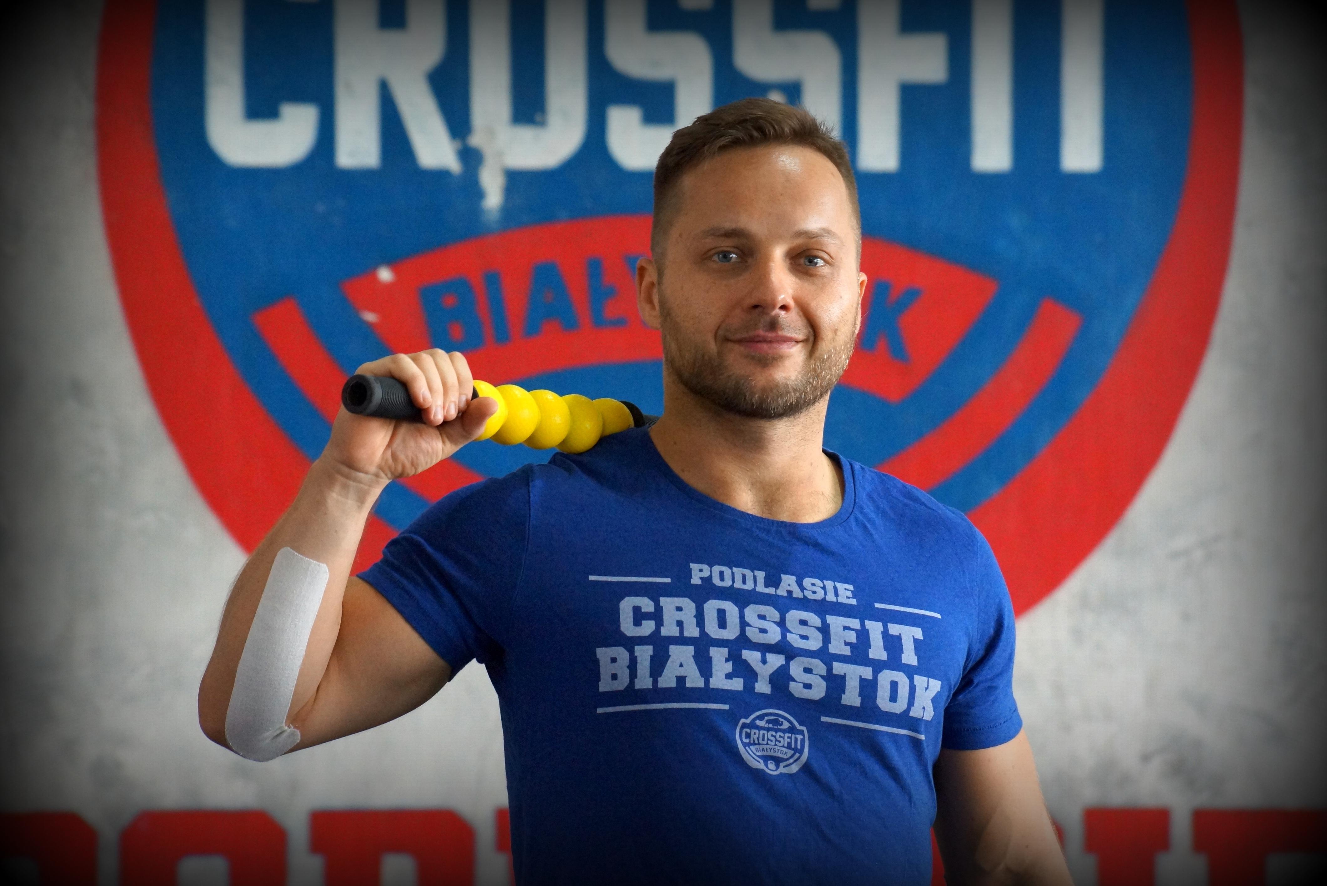 fizjoterapeuta CrossFit Białystok Konrad Wojno