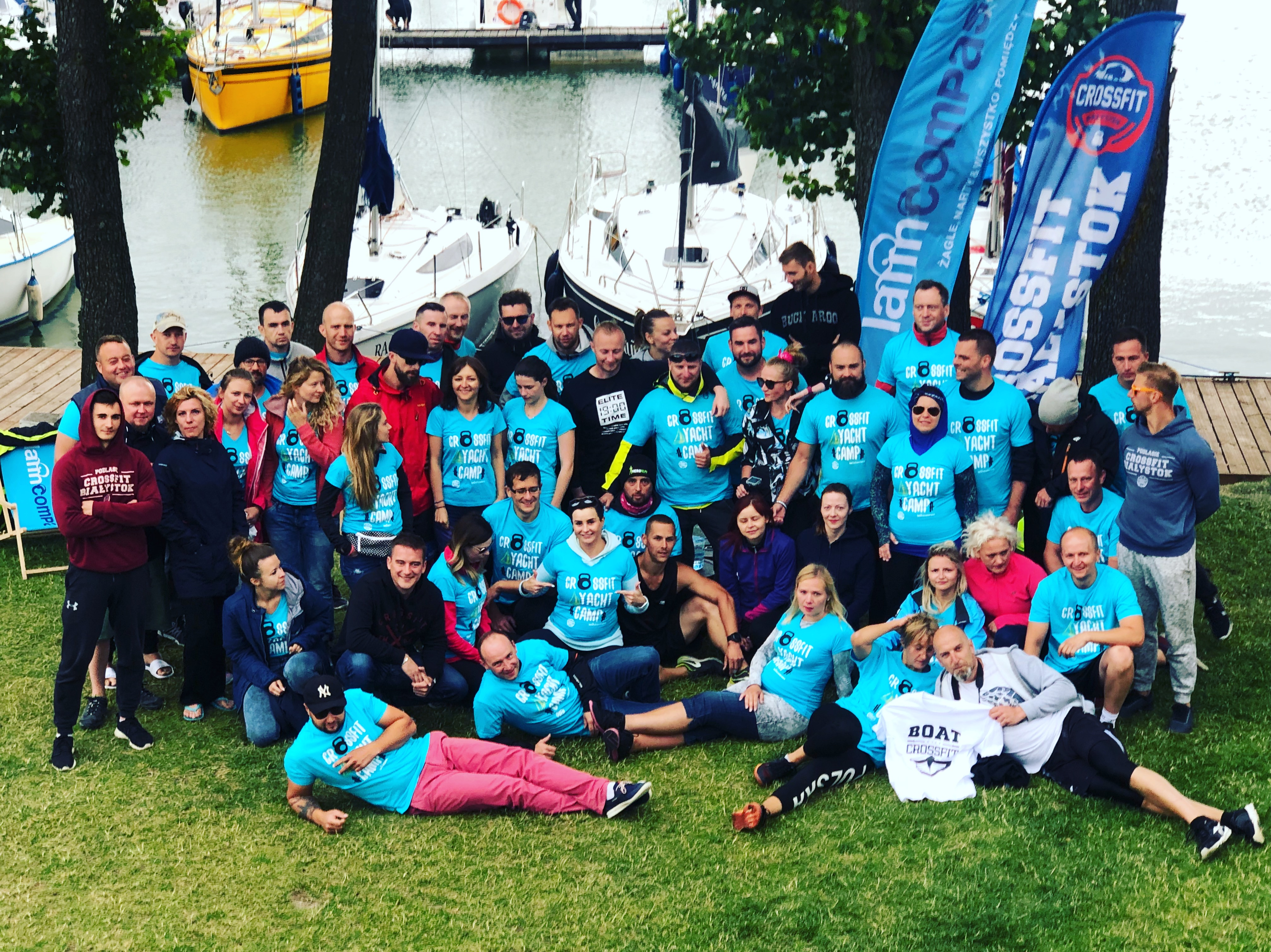 cross fit yacht camp 2018