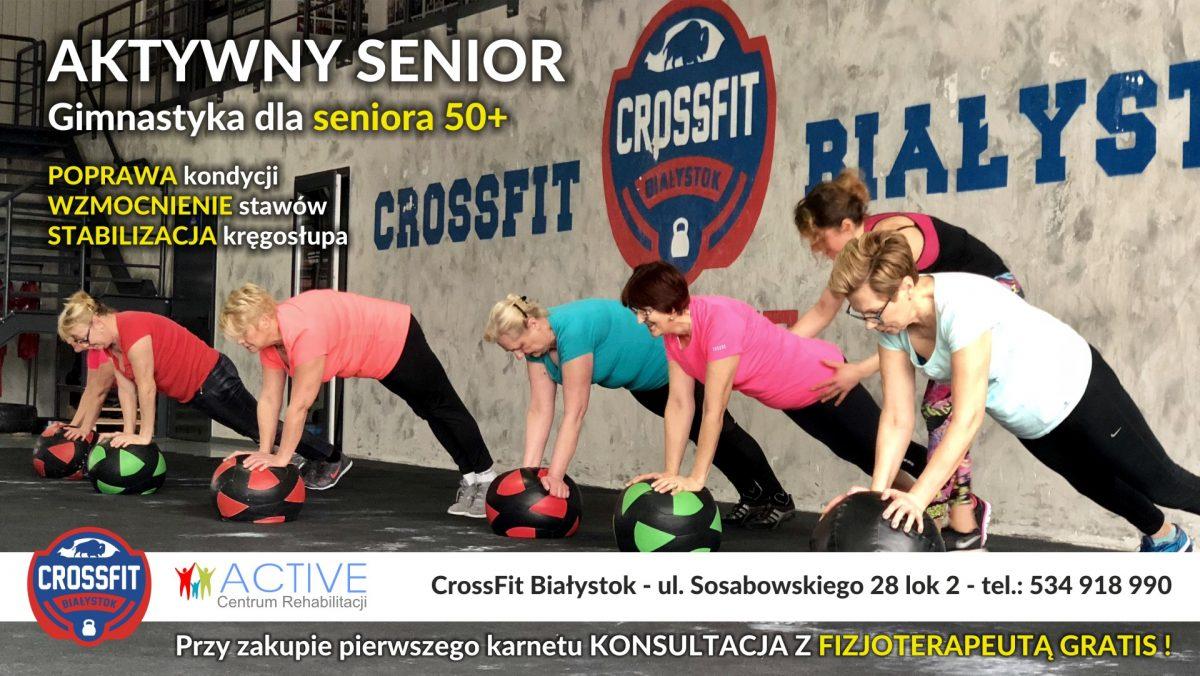 gimnastyka dla seniora 50+