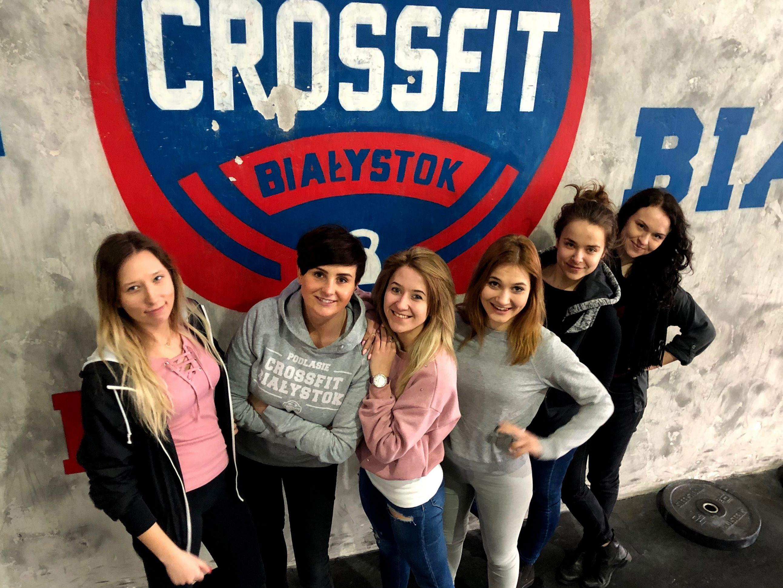 recepcja CrossFit Białystok