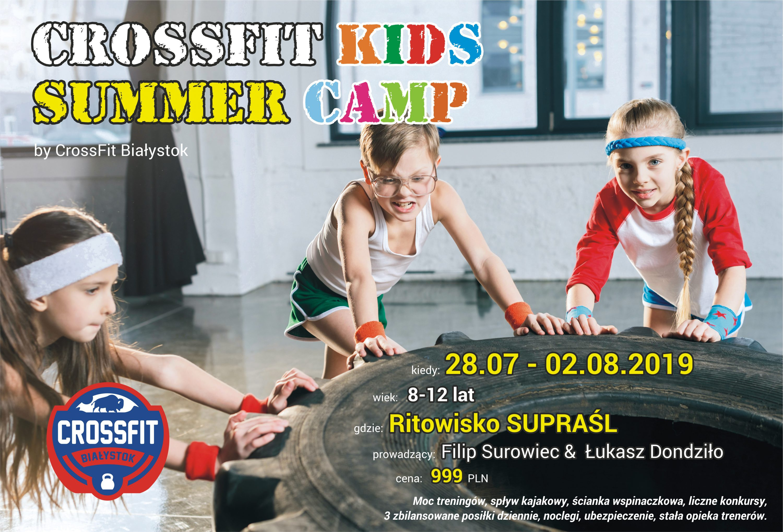 obóz treningowy dla dzieci - summer kids camp 2019