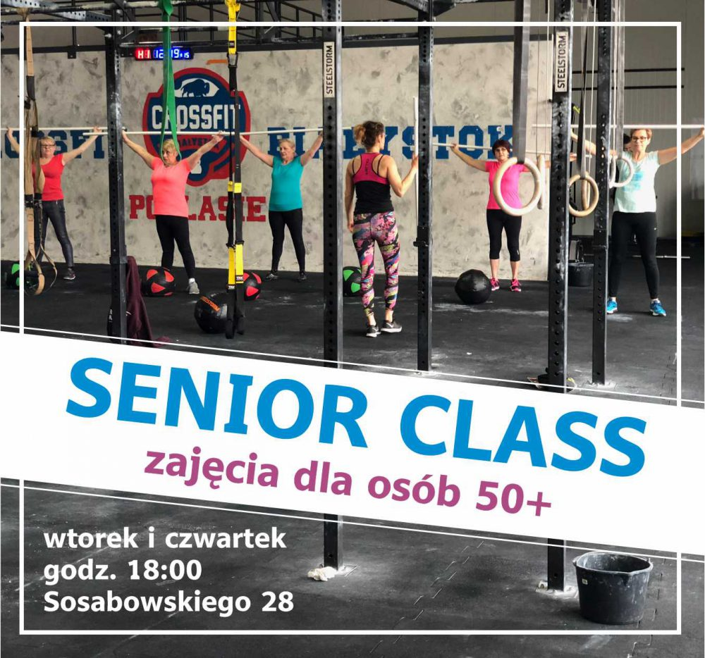 zajęcia dla osób 50+ - senior class