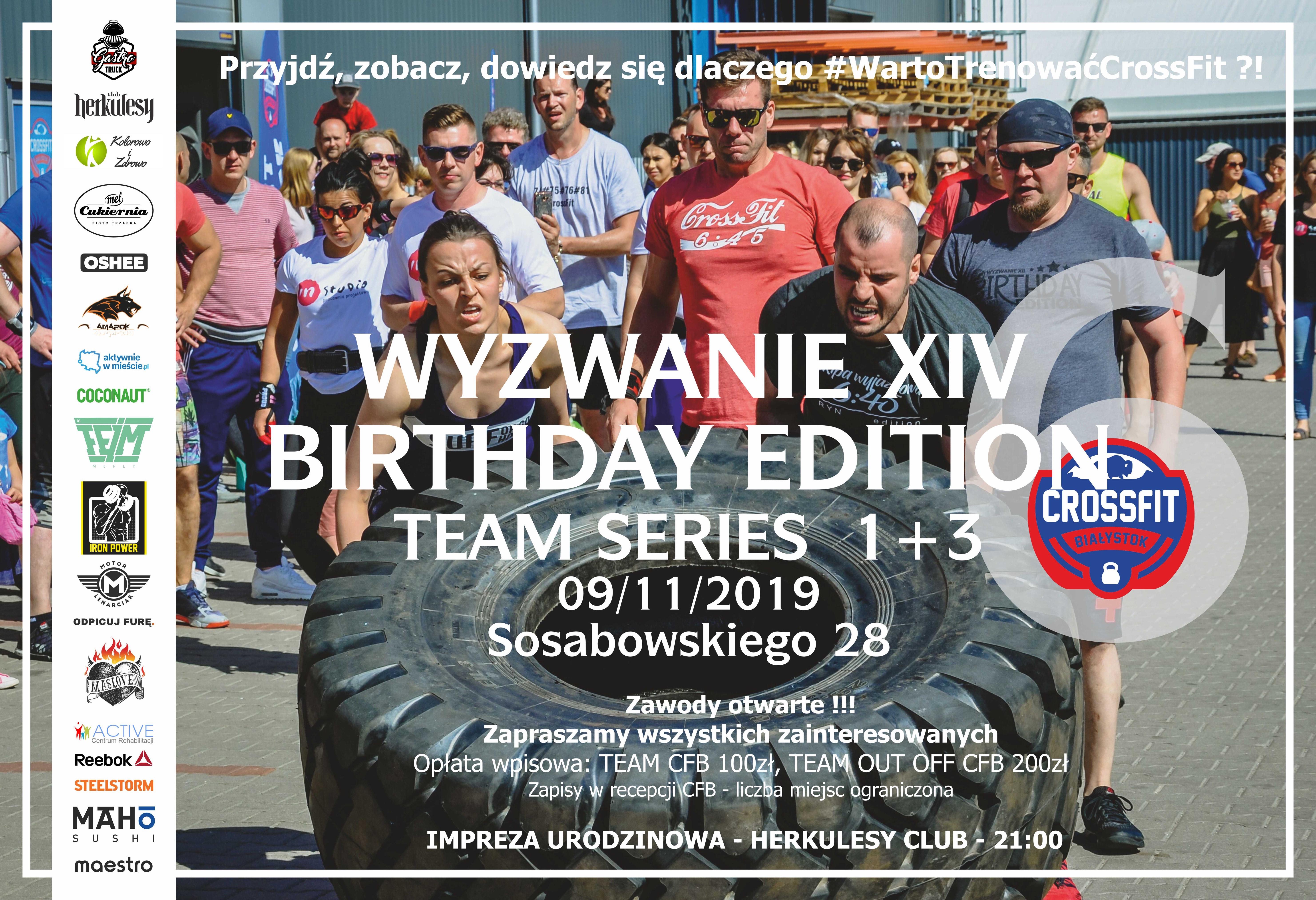 szóste urodziny CrossFit Białystok - wyzwanie XIV