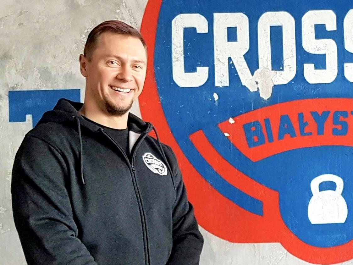 trener Łukasz Dondziło